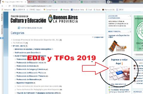 imagen votacion TFO y EDIs